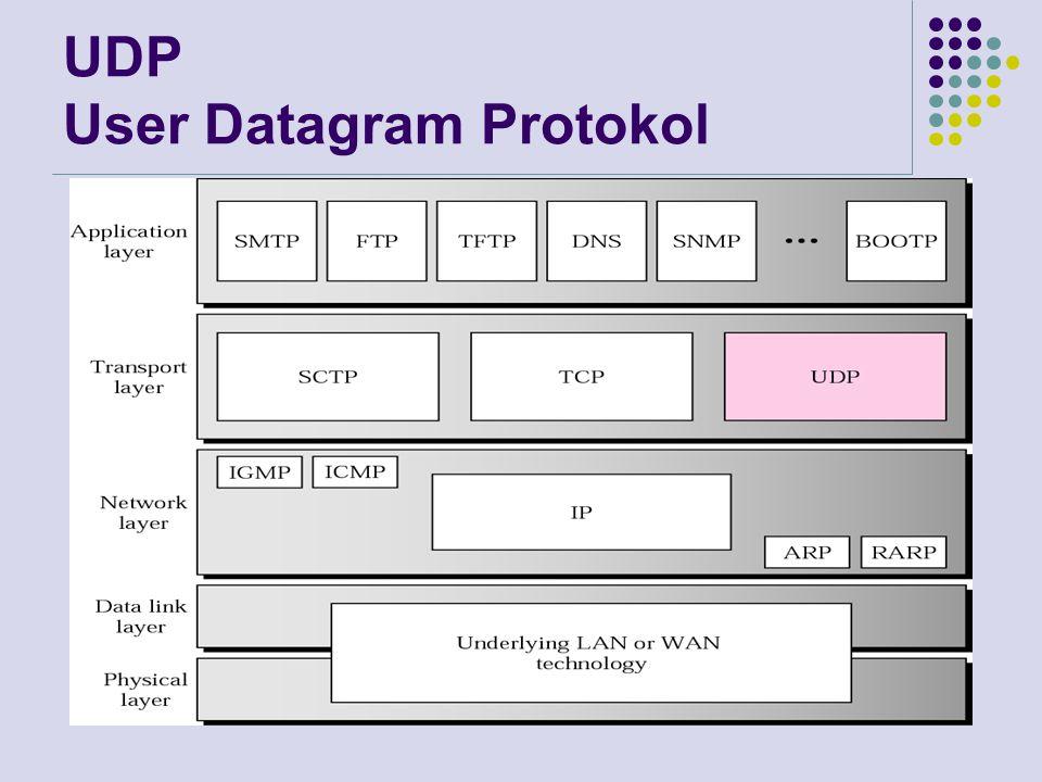 UDP User Datagram Protokol