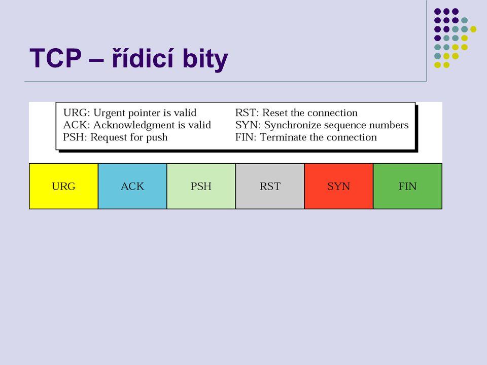 TCP – řídicí bity