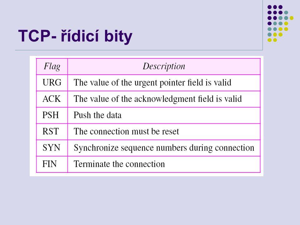 TCP- řídicí bity
