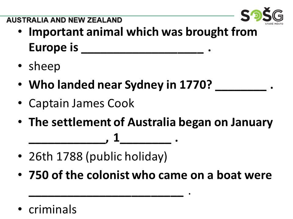 Who are native Australians.