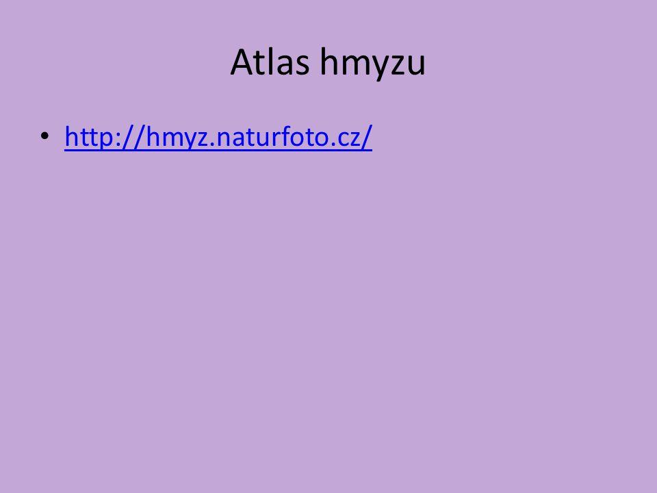 Atlas hmyzu http://hmyz.naturfoto.cz/