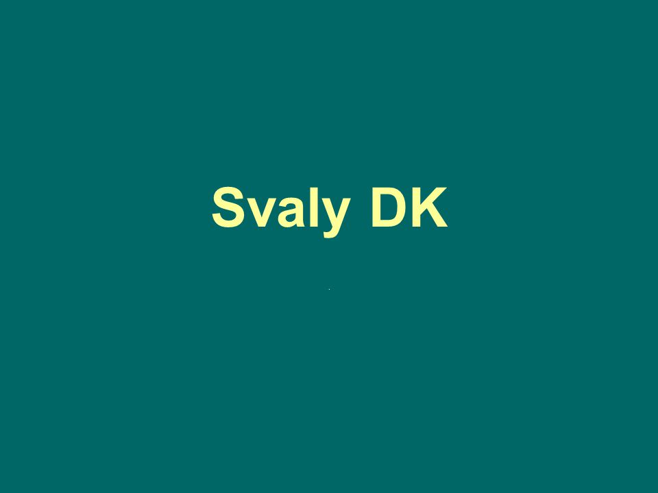 Svaly DK.