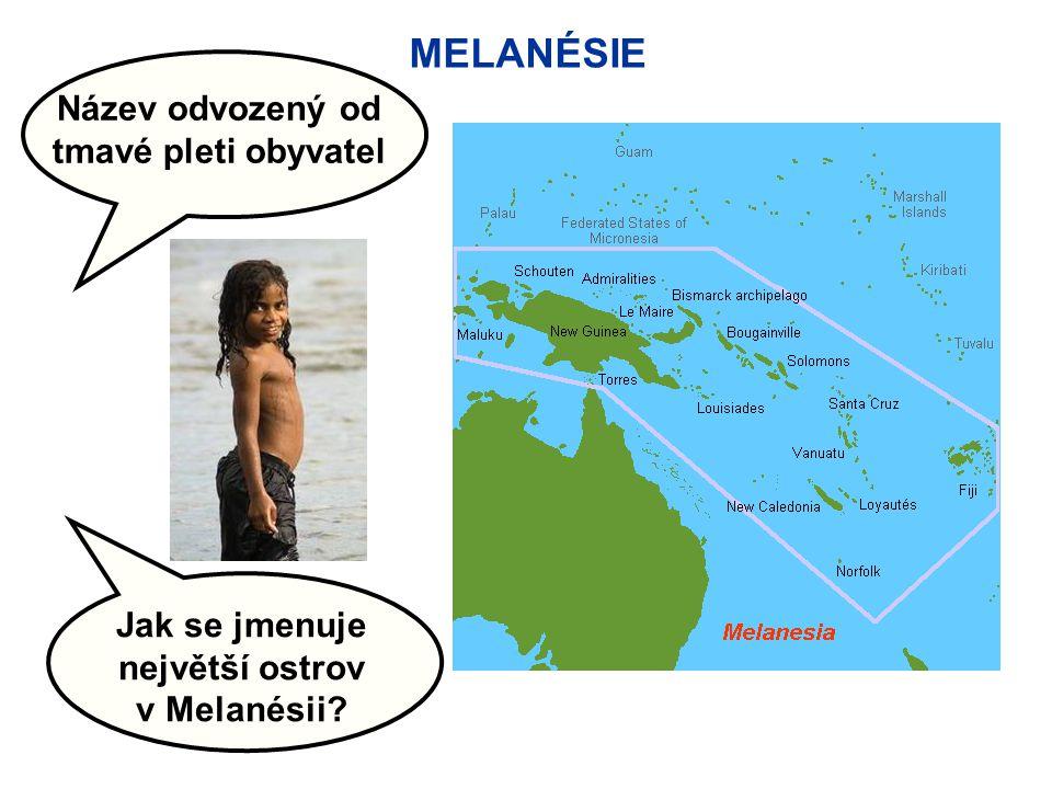 MIKRONÉSIE Název odvozený od malé velikosti ostrovů Jaký rekord drží místo s polohou 11° s.š.