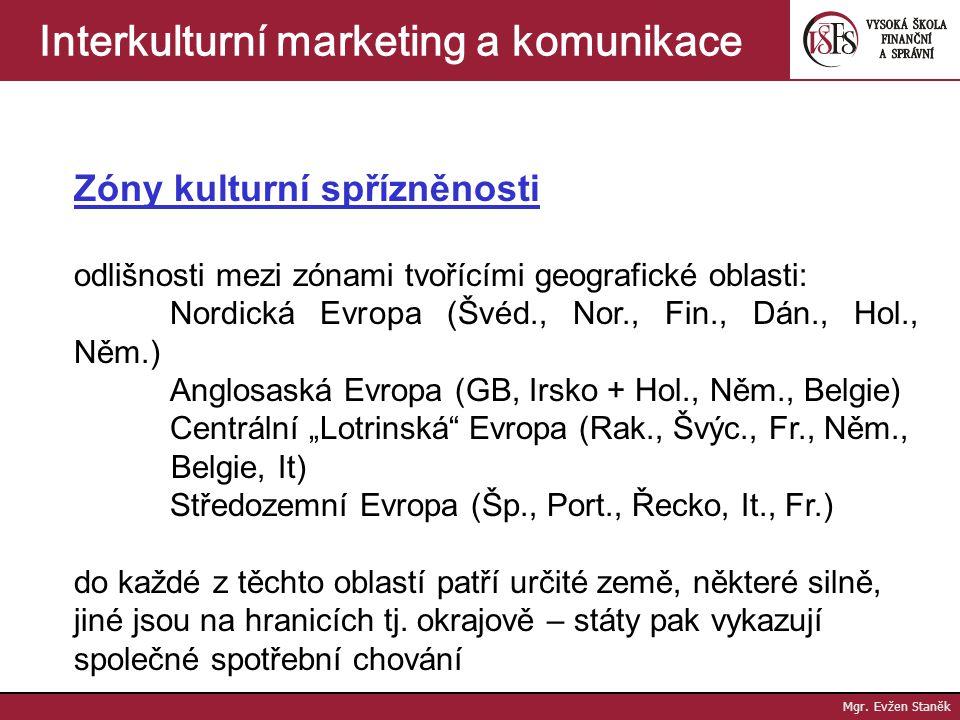 Mgr. Evžen Staněk Interkulturní marketing a komunikace Kvalita - kvalita produktu představuje požadované fungování produktu při jeho používání - zákaz