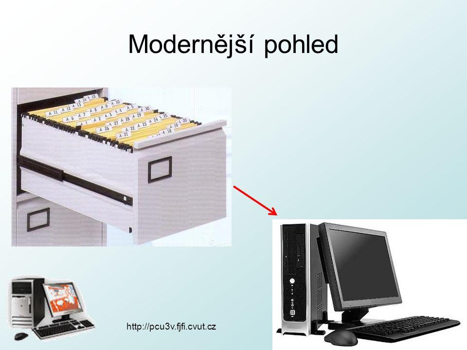 http://pcu3v.fjfi.cvut.cz Modernější pohled