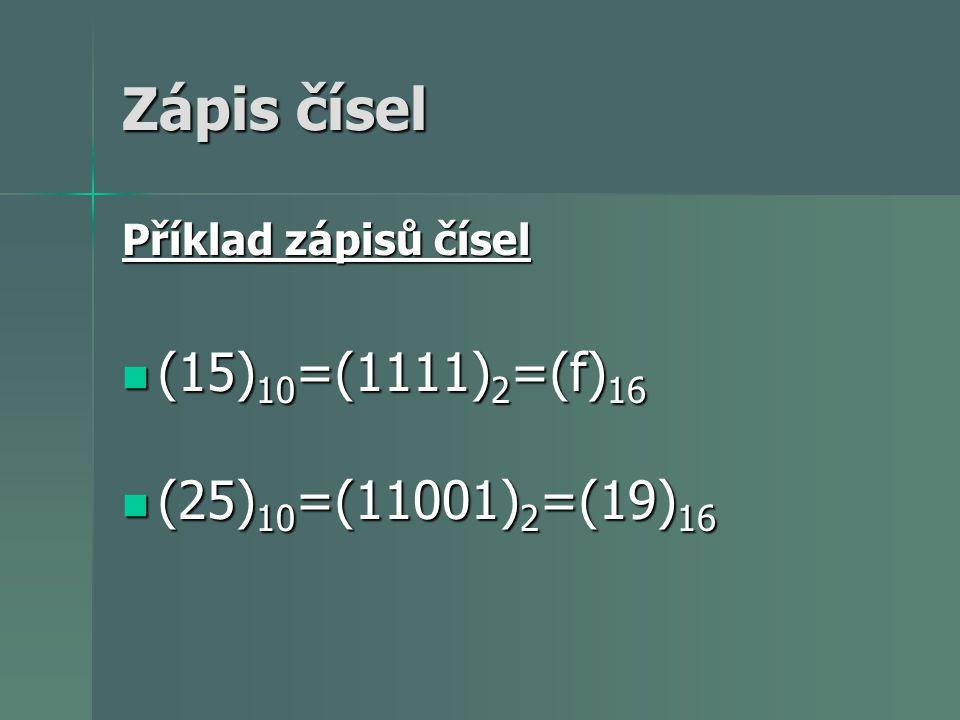 Výpočetní technika využívá číselnou soustavu dvojkovou - 01 Výpočetní technika využívá číselnou soustavu dvojkovou - 01 Převod dvojkové na desítkovou a naopak Převod dvojkové na desítkovou a naopak