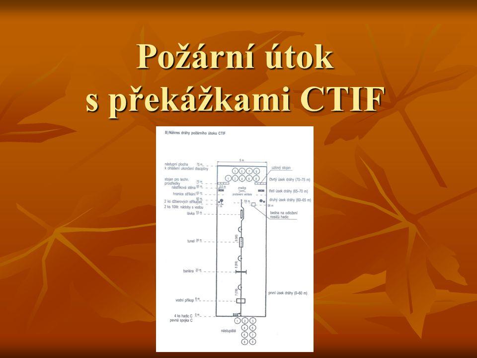 Požární útok s překážkami CTIF
