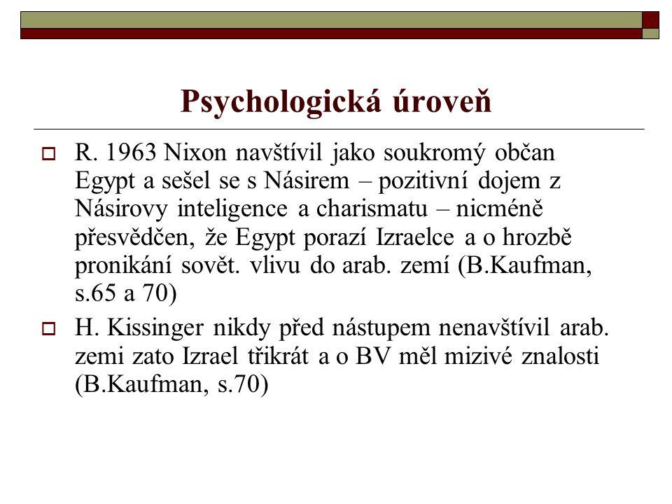 Psychologická úroveň  R.