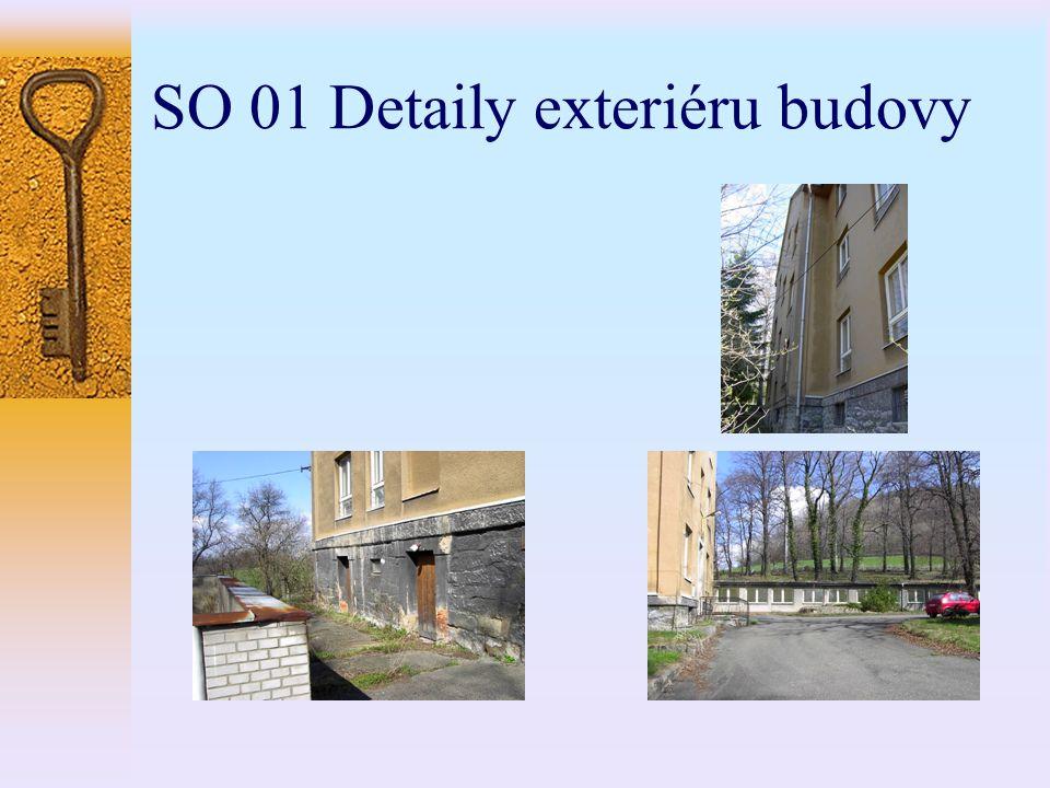 SO 01 Detaily exteriéru budovy