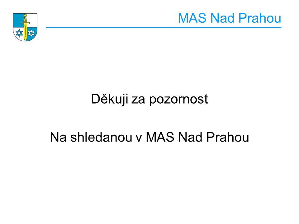MAS Nad Prahou Děkuji za pozornost Na shledanou v MAS Nad Prahou