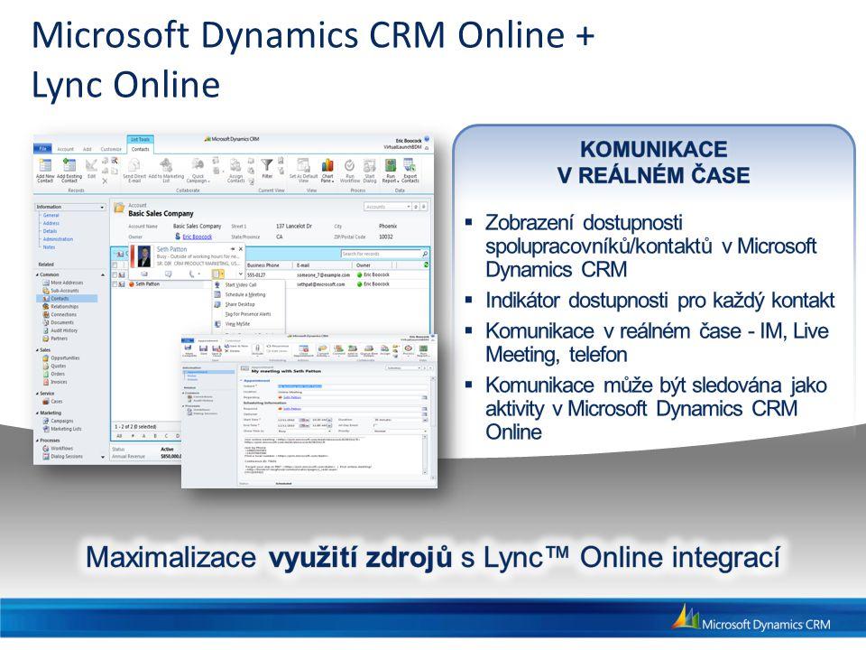 Microsoft Dynamics CRM Online + Lync Online