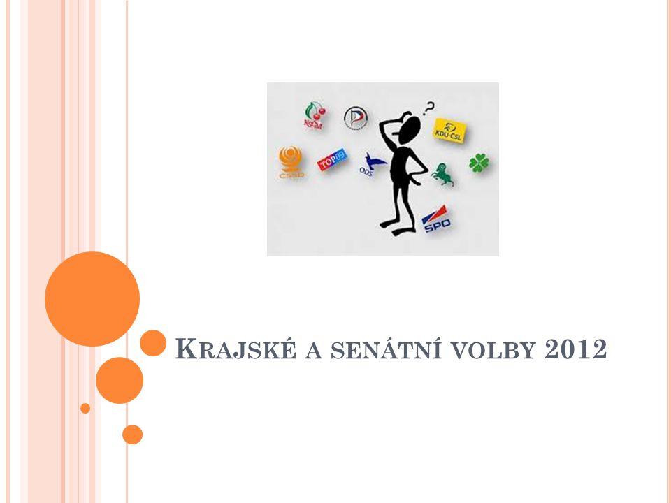 K RAJSKÉ A SENÁTNÍ VOLBY 2012