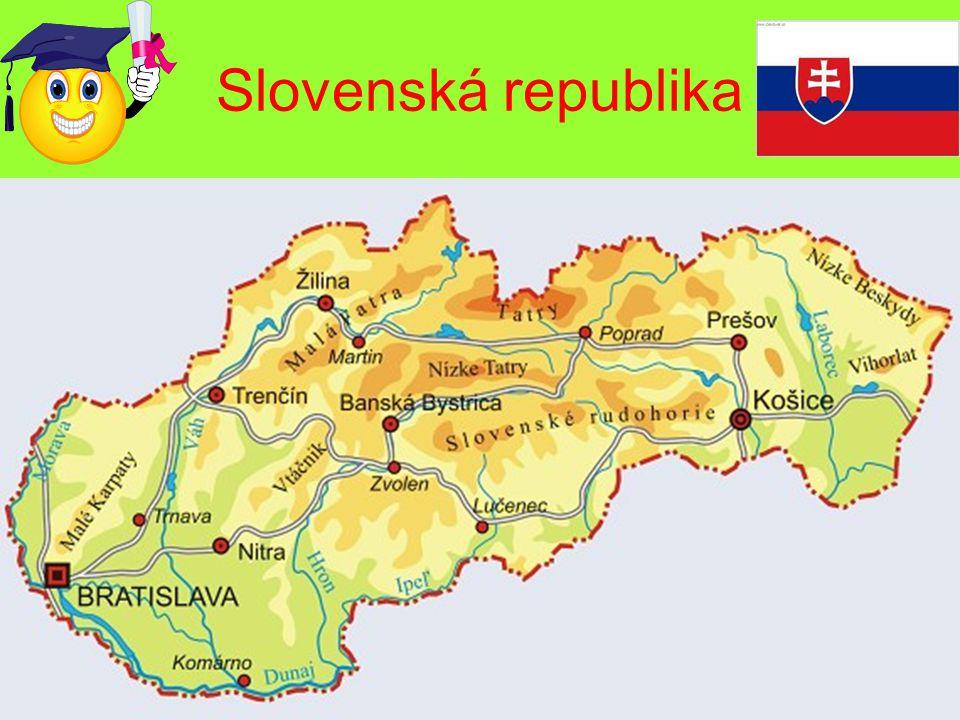 Jak se jmenuje hlavní město Slovenska? 1.Košice 2.Bratislava 12345