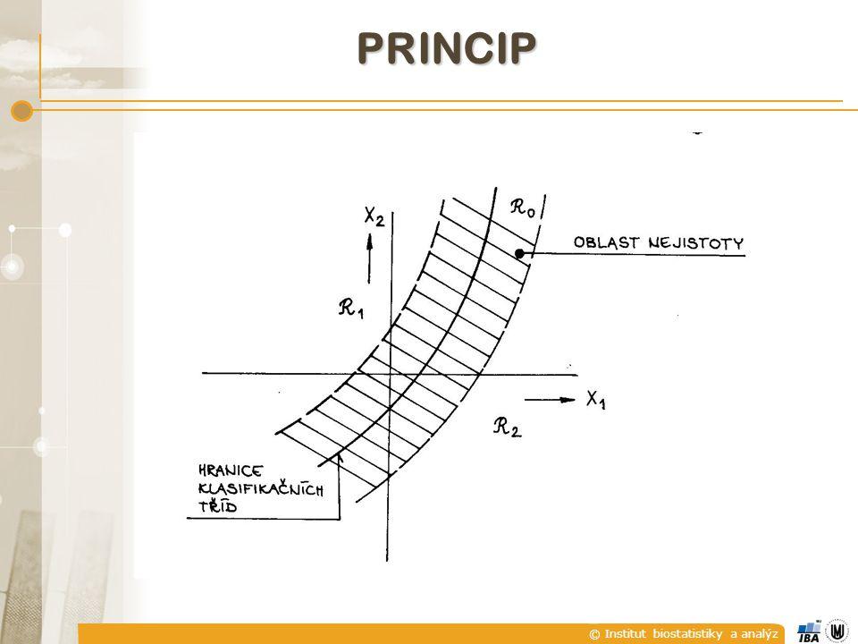 © Institut biostatistiky a analýz PRINCIP