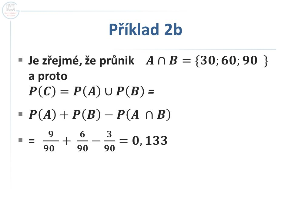 Příklad 2b