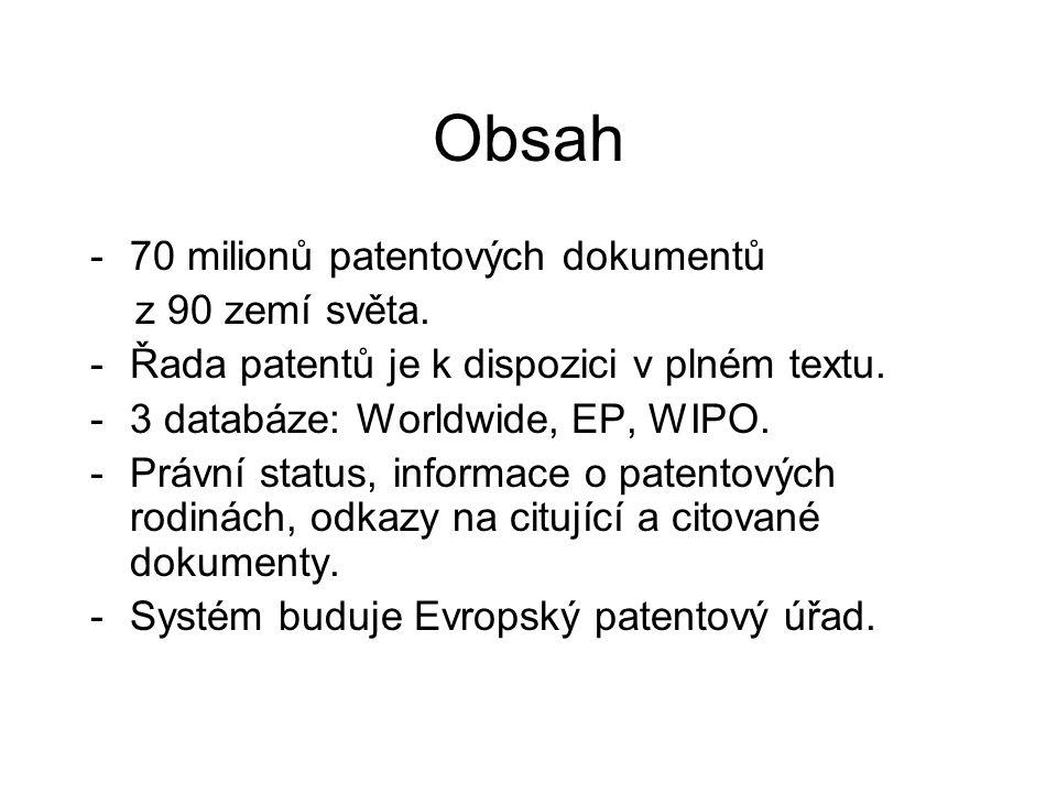 Patentová rodina