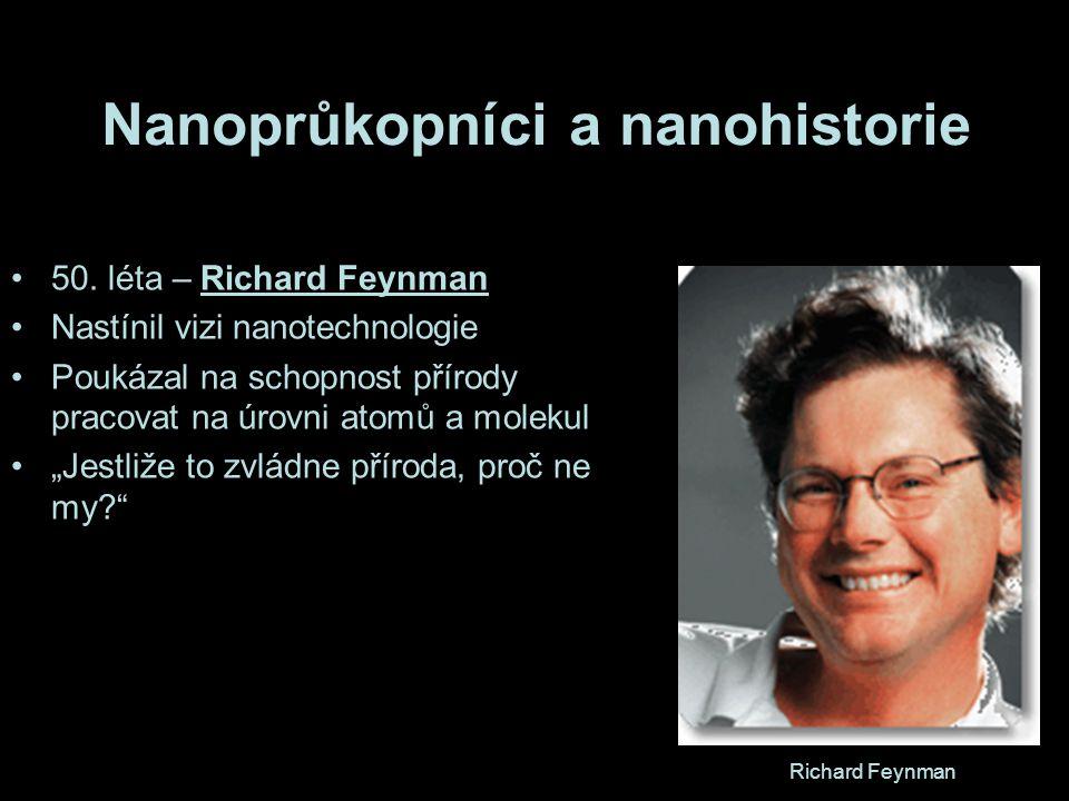 Nanoprůkopníci a nanohistorie 50.