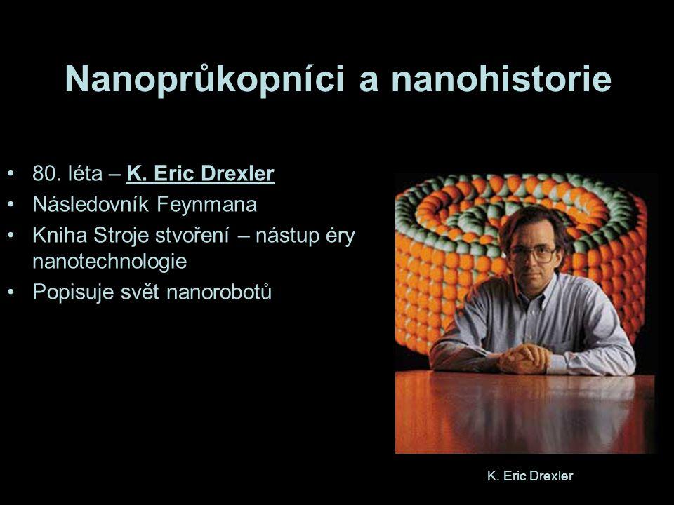 Nanoprůkopníci a nanohistorie 80.léta – K.