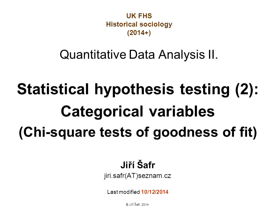 Pouhý celkový test homogenity polí kontingenční tabulky sociologovi ovšem nestačí.