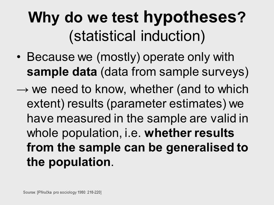 Neparametrické testy (Non-parametric Tests) Parametrické metody předpokládají: náhodný výběr, normální rozdělní (distribuce znaku), velké výběry z populace, známé (shodné) rozptyly v sub/populacích, z nichž byl proveden výběr Neparametrické metody: - nezávislé na rozdělní - méně citlivé na odchylky extrémních hodnot -i pro výběry velmi malého rozsahu -vhodné pro nominální i ordinální znaky Ale dochází častěji k chybnému nezamítnutí nepravdivé H0.