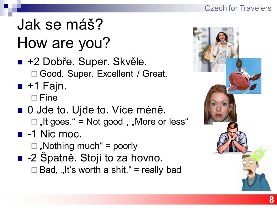 """19 Homework session/revision Optional """"Czech session ??? Czech for Travelers"""