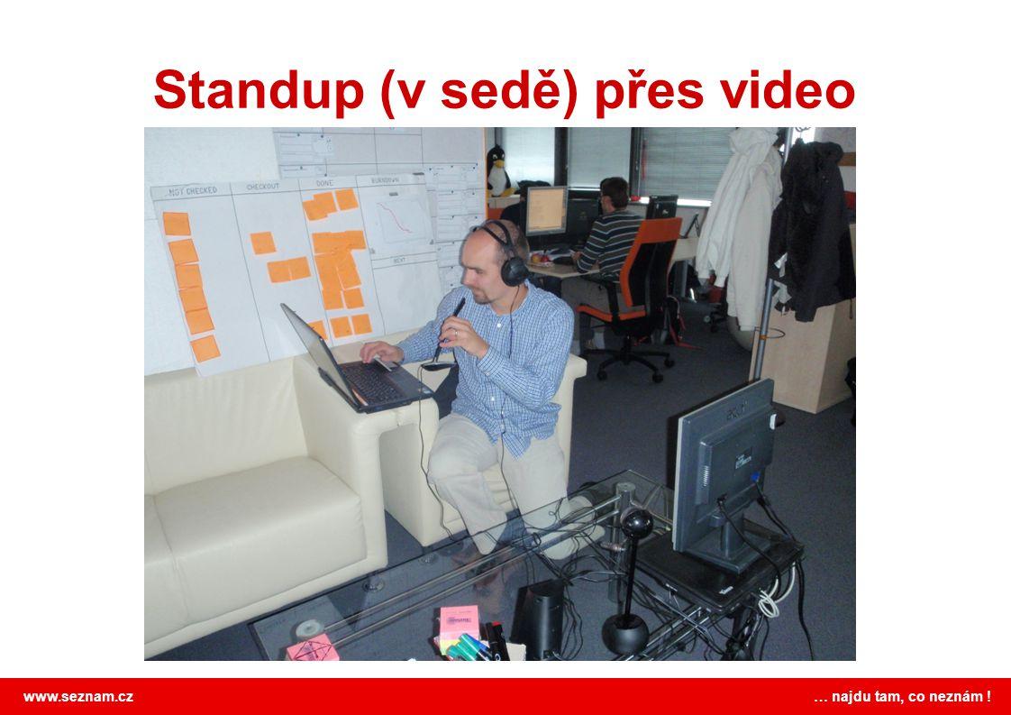 www.seznam.cz … najdu tam, co neznám ! Standup (v sedě) přes video
