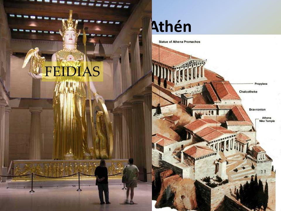 Rozkvět Athén stratég PERIKLES: Athénský námořní spolek – 30 měst platí do společné pokladny  Lodě a výzbroj proti Peršanům  Výstavba Athén: Akropol