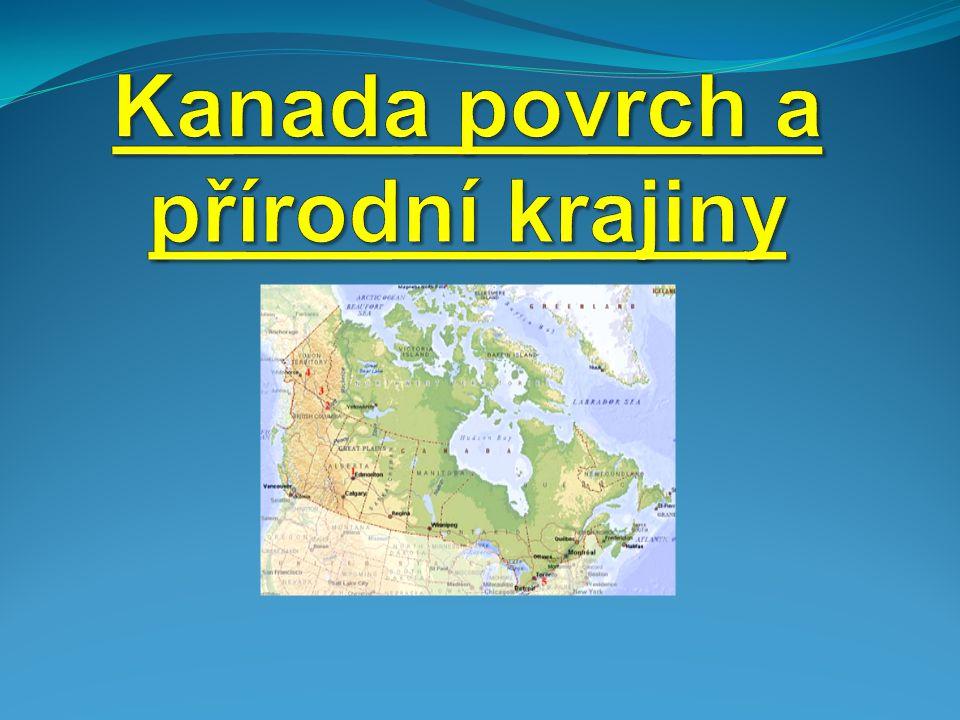 Kanadu můžeme rozdělit do několika geografických oblastí.