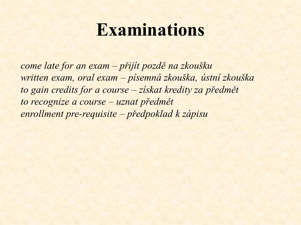 Examinations Dialogue: A: Are there any examination dates posted on the Information System for the course.