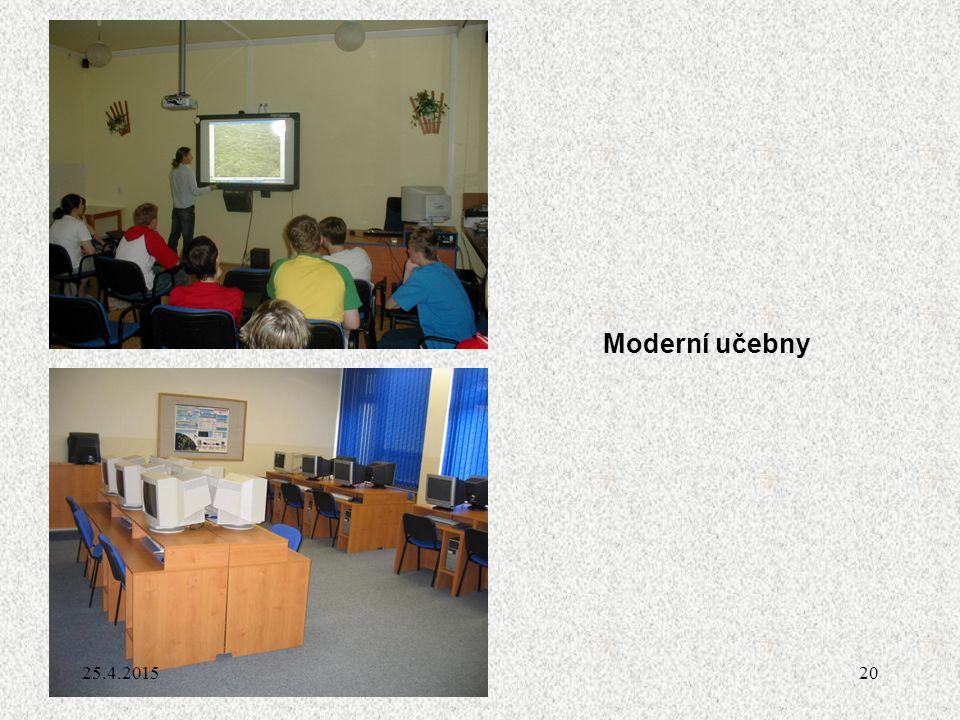 20 Moderní učebny 25.4.2015