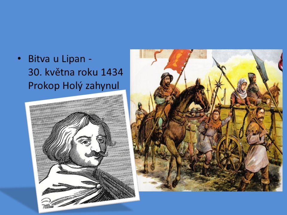 Bitva u Lipan - 30. května roku 1434 Prokop Holý zahynul