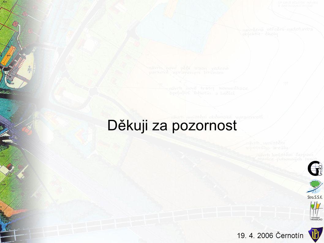 19. 4. 2006 Černotín Děkuji za pozornost
