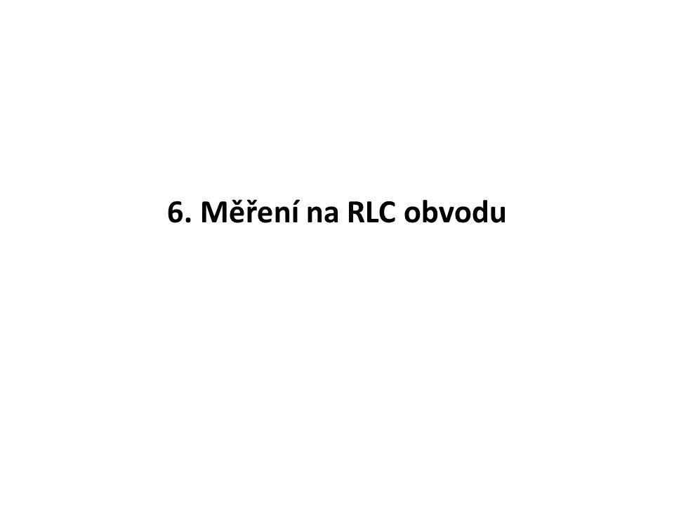 Graf, fázorový diagram I RC M U : 1cm = 1V M I : 1cm = 10mA U IRIR ICIC