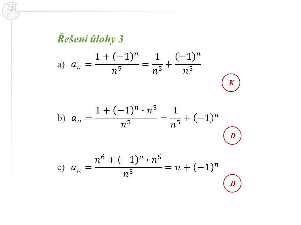 Řešení úlohy 3 a) b) c) a) KDD