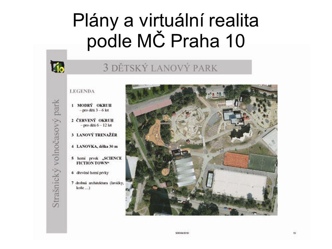 Plány a virtuální realita podle MČ Praha 10