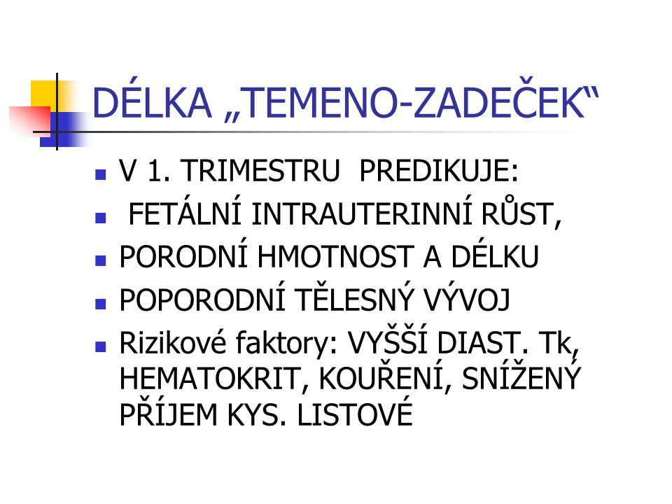 """DÉLKA """"TEMENO-ZADEČEK V 1."""