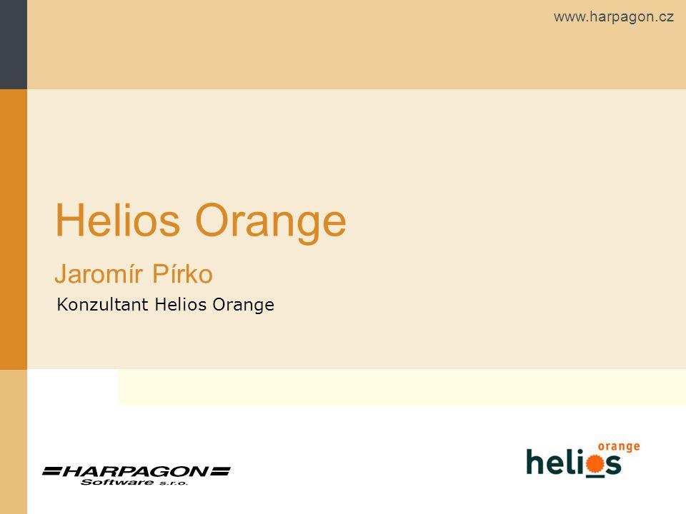 www.harpagon.cz Helios Orange Jaromír Pírko Konzultant Helios Orange