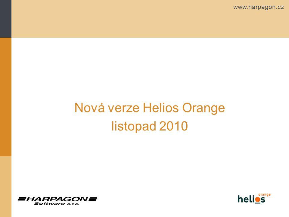 www.harpagon.cz Nová verze Helios Orange listopad 2010