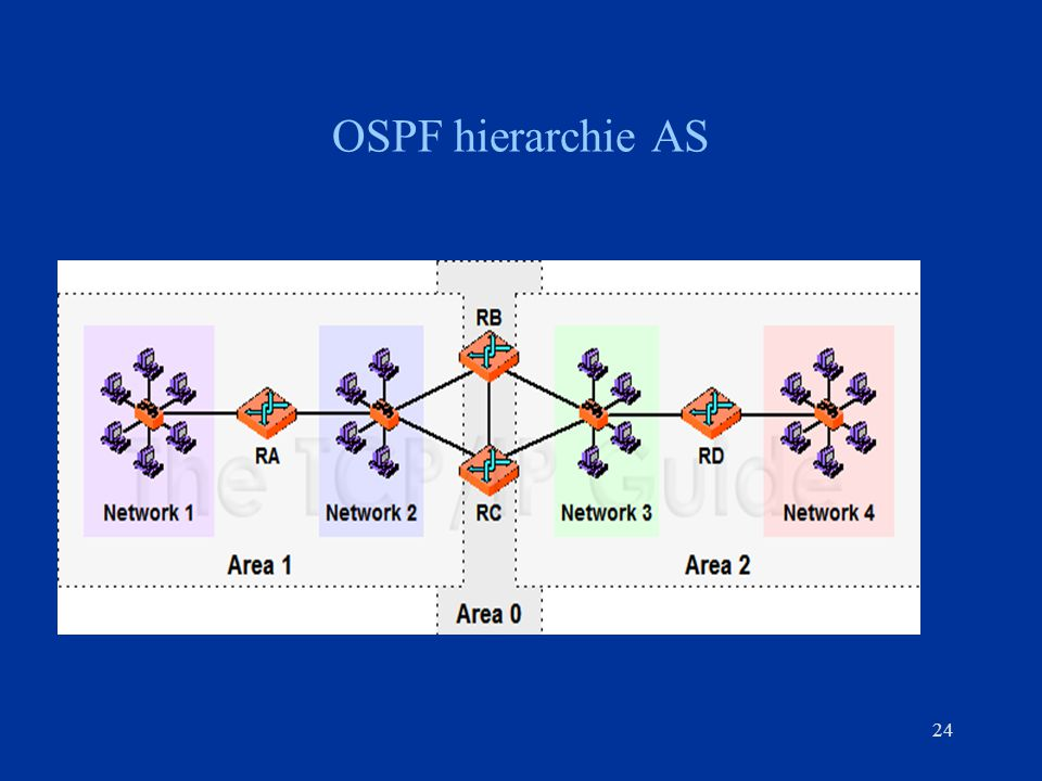 OSPF hierarchie AS 24