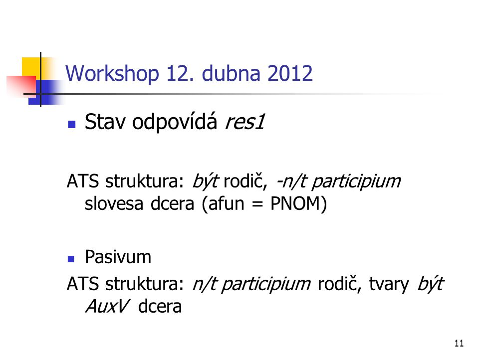 11 Workshop 12.