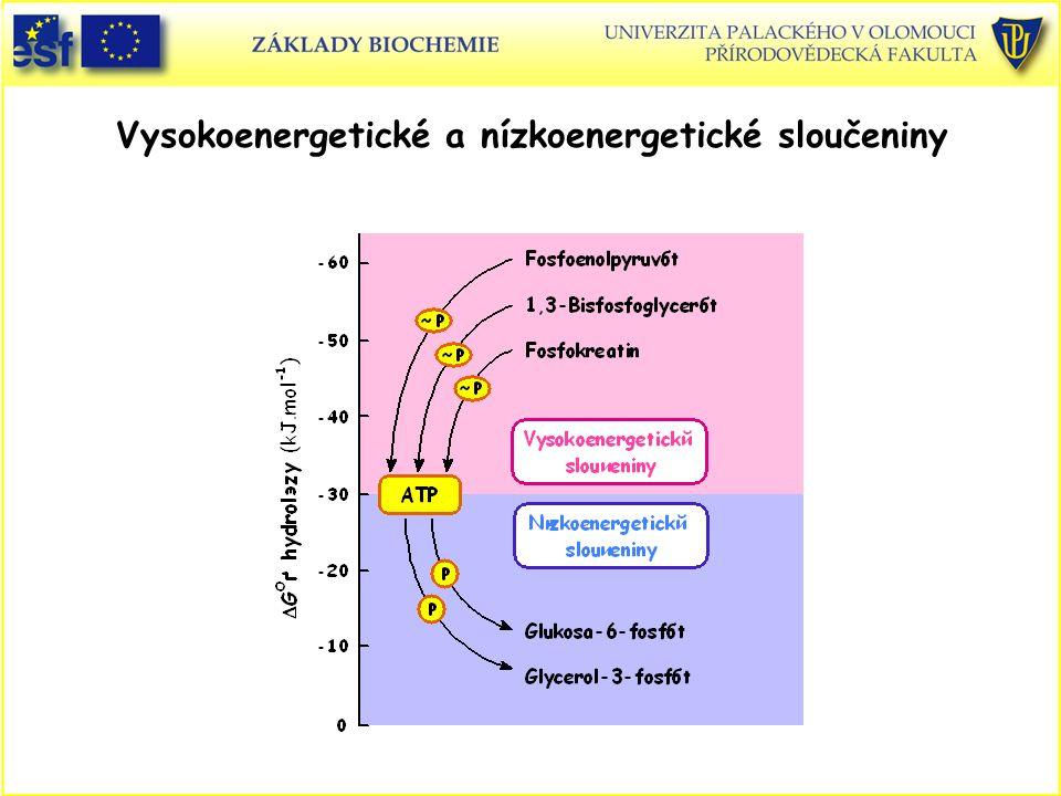 Vysokoenergetické a nízkoenergetické sloučeniny