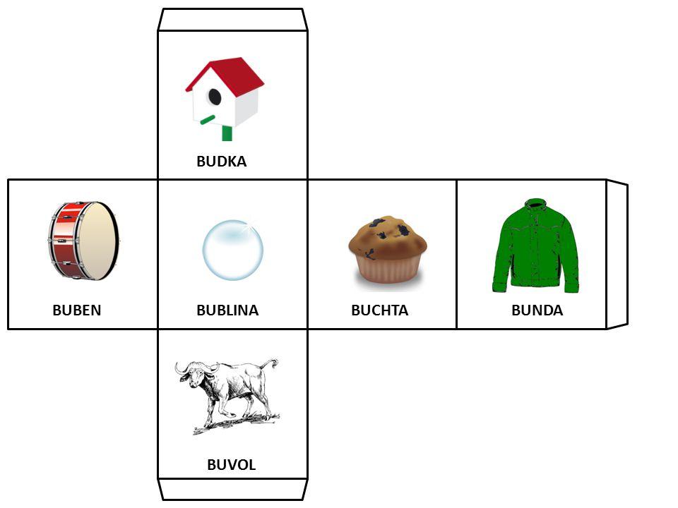 BUBENBUNDA BUVOL BUDKA BUCHTABUBLINA