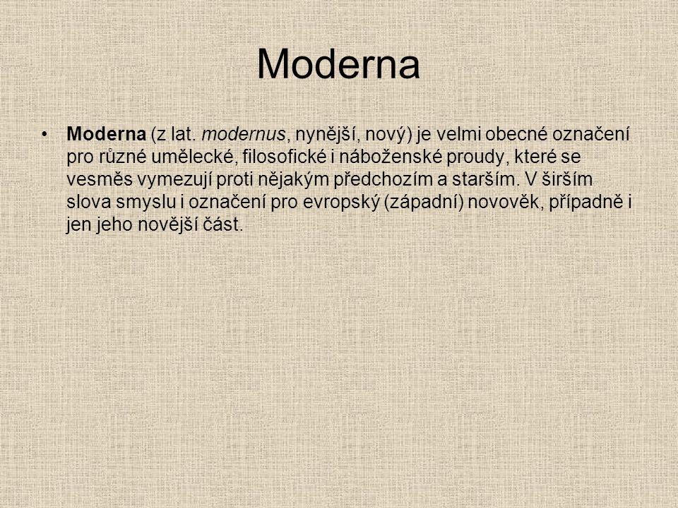 Moderna Moderna (z lat.