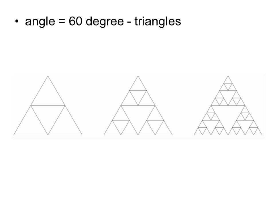 České vysoké učení technické v Praze Fakulta dopravní angle = 60 degree - triangles