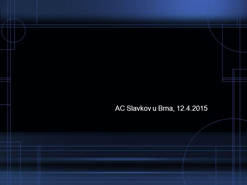 AC Slavkov u Brna, 12.4.2015