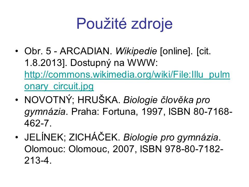 Použité zdroje Obr.5 - ARCADIAN. Wikipedie [online].