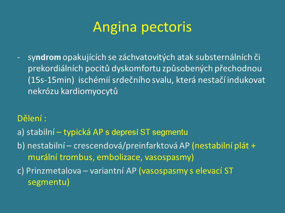 Infekční endokarditis - infekční zánět nástěnného či chlopenního endokardu s tvorbou vegetací Etiologie: 50-60% Streptococcus viridans 10-20% Staphylococcus aureus (i.v.
