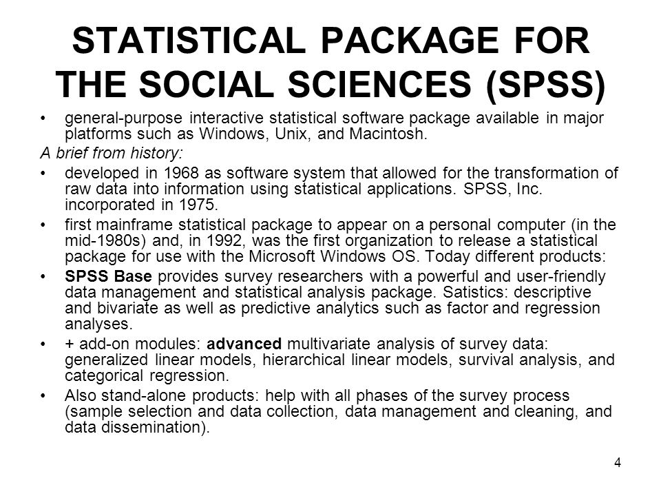 5 GNU PSPP Free Software Foundation tool for statistical analysis of sampled data.