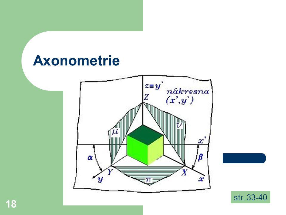 18 Axonometrie str. 33-40