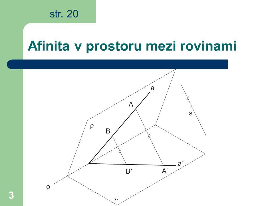 3 Afinita v prostoru mezi rovinami str. 20